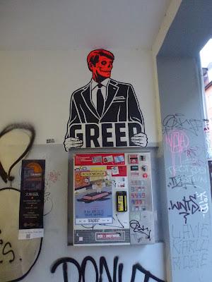 GREED || Paste-Up || Reichenbachstraße || München