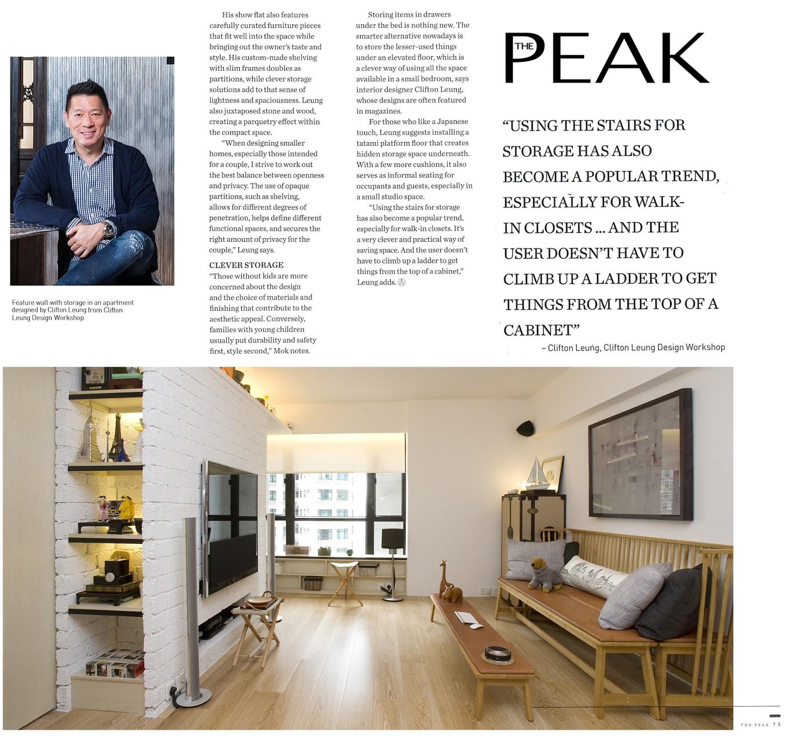 Hong Kong Interior Design Tips & Ideas | Clifton Leung: Bachelor ...