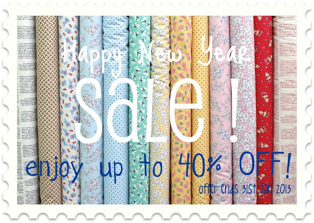 Messyjesse a quilt blog by jessie fincham happy new for Quilting fabric sale