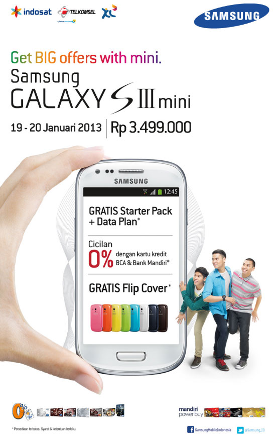 Samsung Galaxy S III Mini Launch Promo