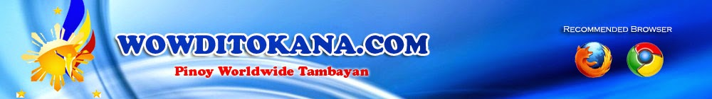 WOWDitokana.com - Online Tambayan, Pinoy TV and Radio, Movies, TV Shows , Sports