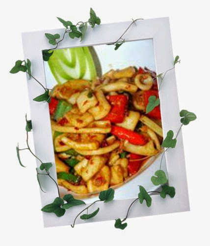 Tumis-tumis Ramadan Chef Sabri, Udang Goreng Mentega Berkrim, Sotong Goreng Lada Hitam, Jus Epal dan Timun