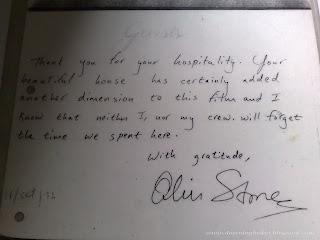 Oliver Stone visits Phuket