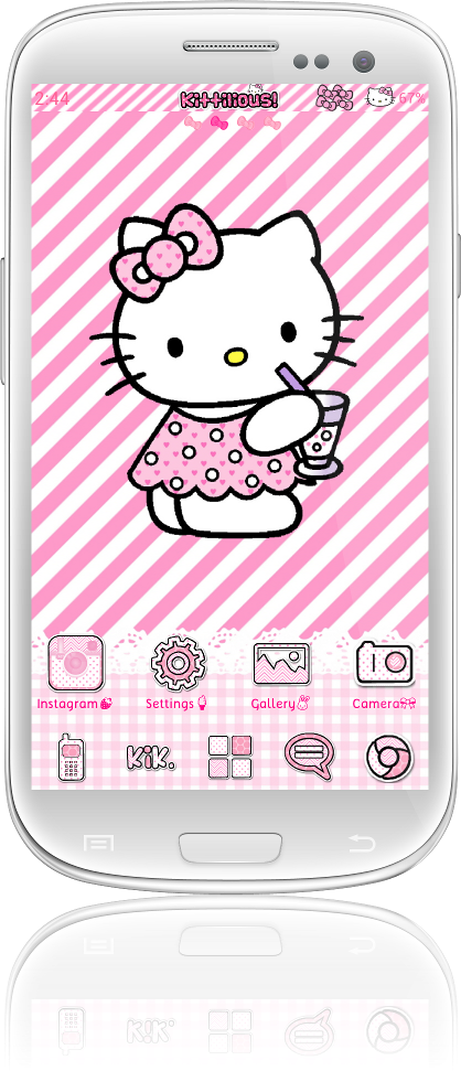 ... Themes for Android! - A collection of Android Hello Kitty Themes