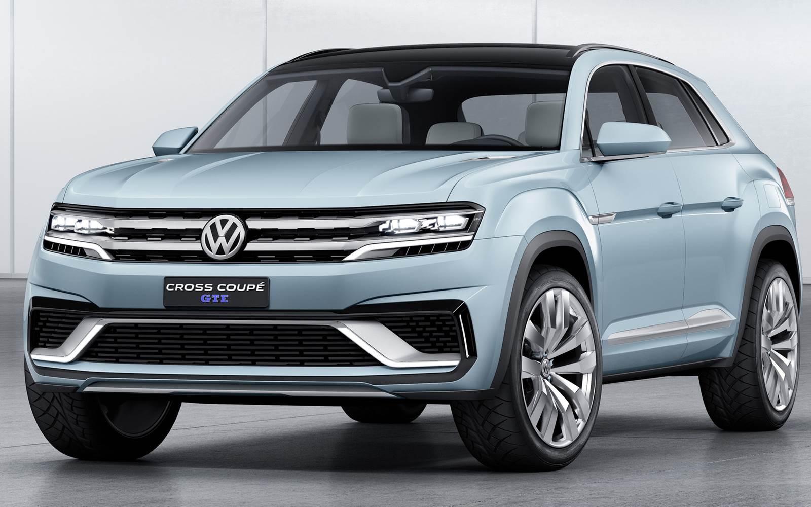 Novo Tiguan 2016 - Volkswagen Cross Coupé GTE