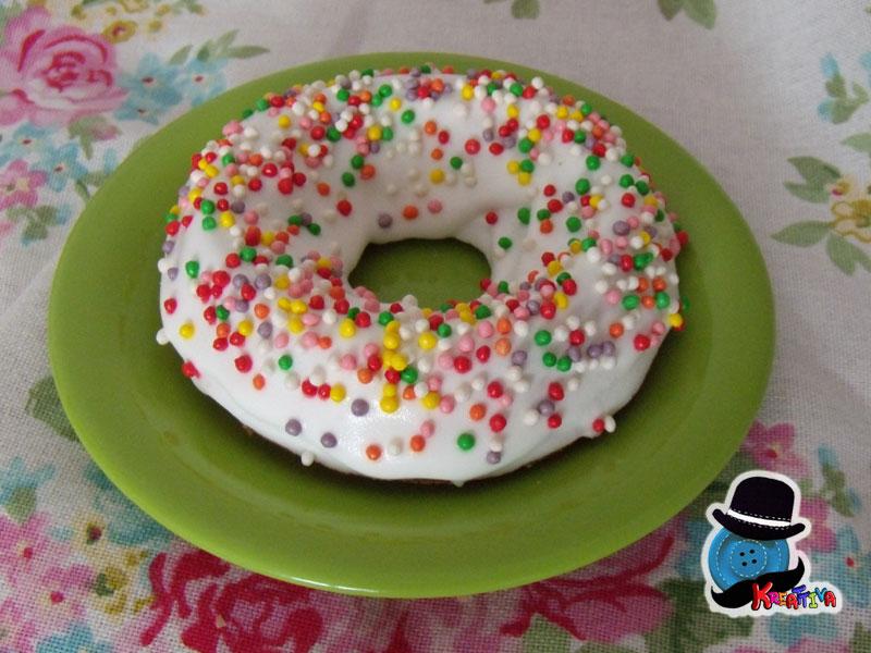 ciambelle multicolor senza glutine