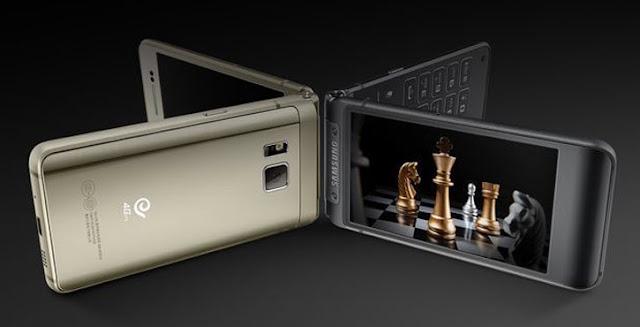 Harga Samsung W2016, Smartphone Flip 20 Jutaan