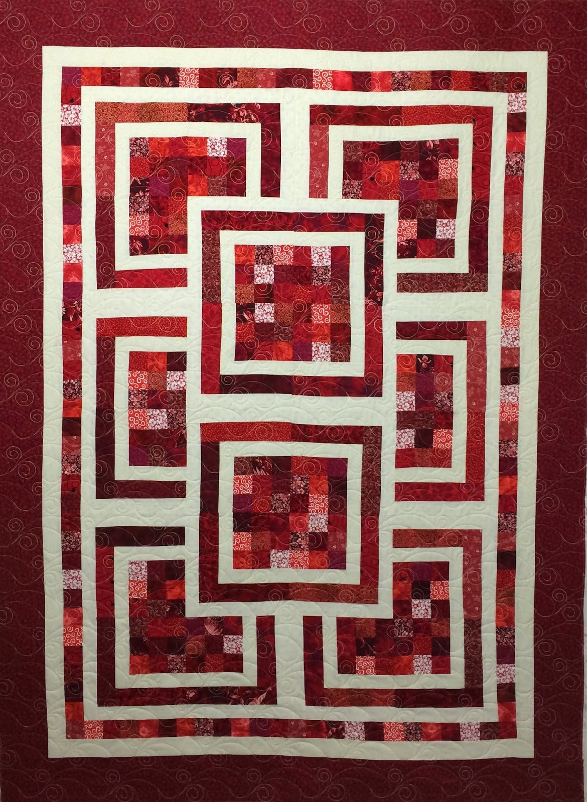 Leanne Strum's Red and White Quilt
