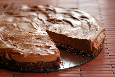 Cheesecake of Nutella without baking light meal no-bake recipe