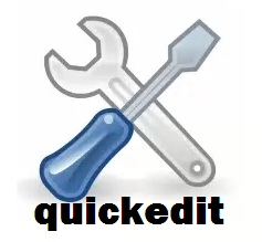 Cara Menghilangkan Gambar Ikon Quickedit di Blog