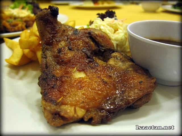 3 Black Pepper Chicken Chop - RM15.90
