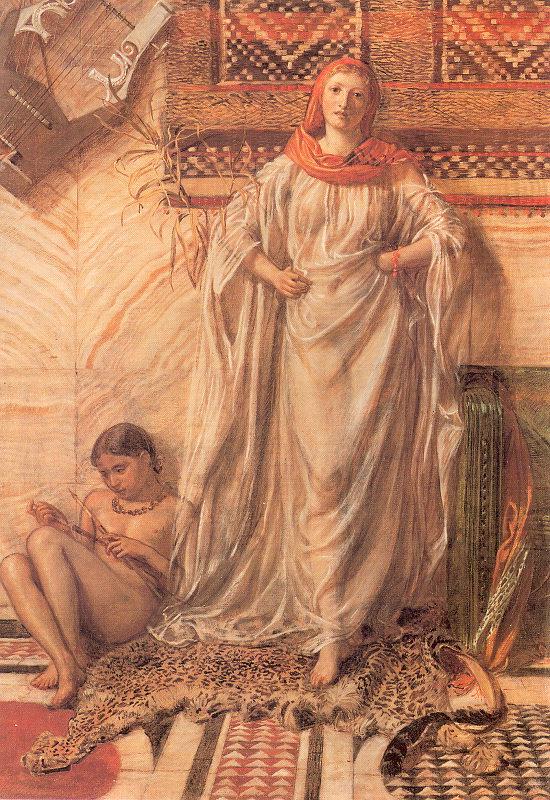 Albert Joseph Moore 1841-1893 | British Classicist painter