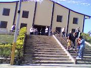 Santuário de Frei Galvão, onde sou voluntária.