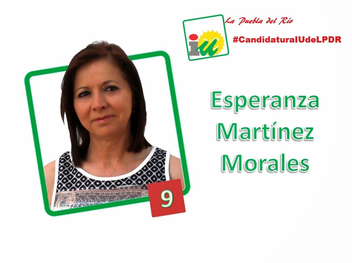 #CandidaturaIUdeLPDR Esperanza Martínez