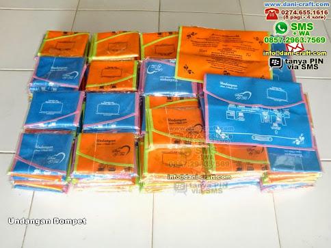 Undangan Dompet Kain Spunbond Sumatera Selatan