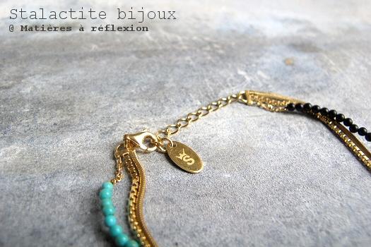 SOLDES Stalactite Bijoux