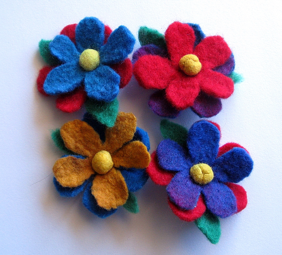 how to make handmade brooches