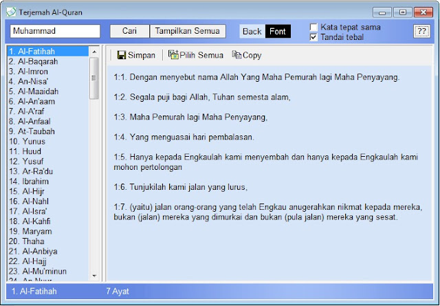 Al Quran Portable Indonesia