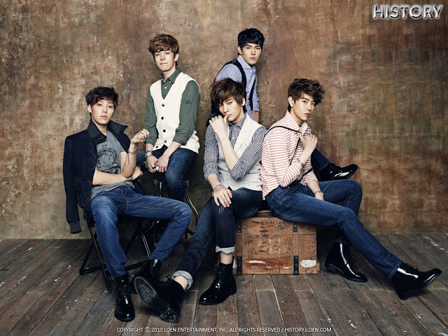 loen the boy History (korean: 히스토리) was a south korean boy group formed by loen entertainment in 2013 they debuted on april 26, 2013 with dreamer.