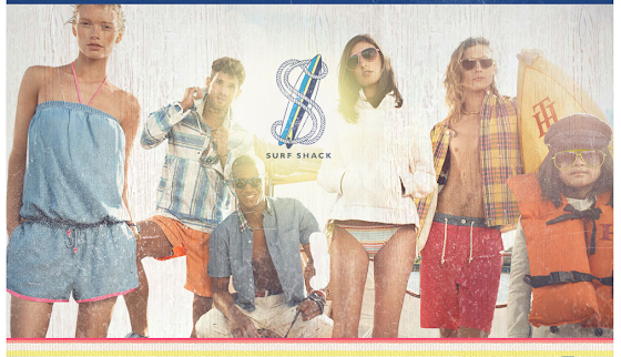 Tommy Hilfiger's Surf Shack capsule collection in Chicago