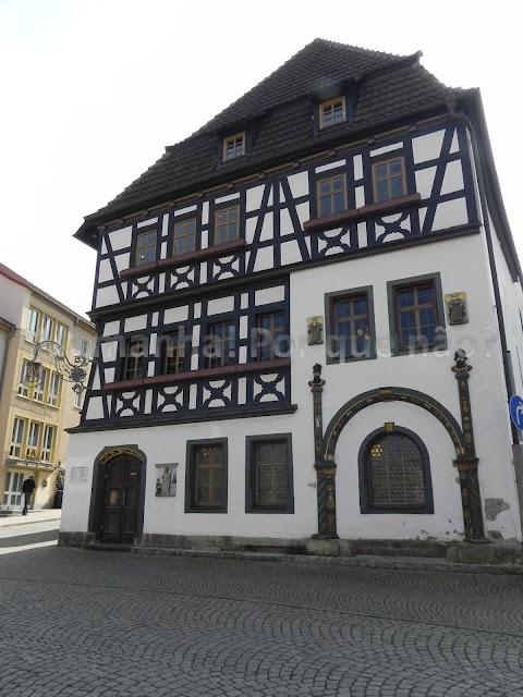 Lutherhaus, casa onde Lutero viveu quando criança