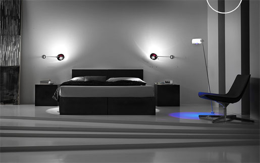 Design classic interior 2012 bedroom wall lamps for Wall light fixtures bedroom
