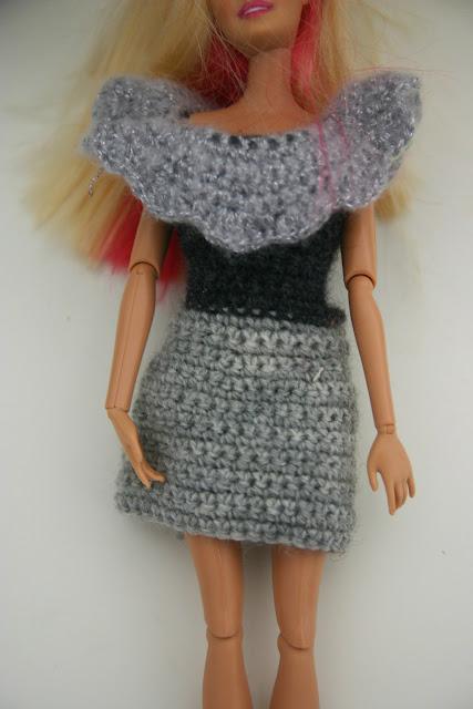 Claja et la raison d 39 tre tutoriel sac au crochet et robe barbie - Vetement deteint que faire ...