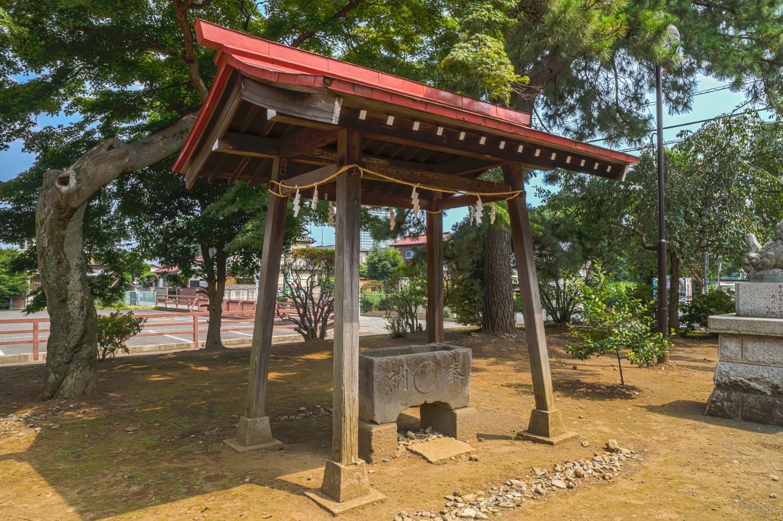 八坂神社、手水舎の写真