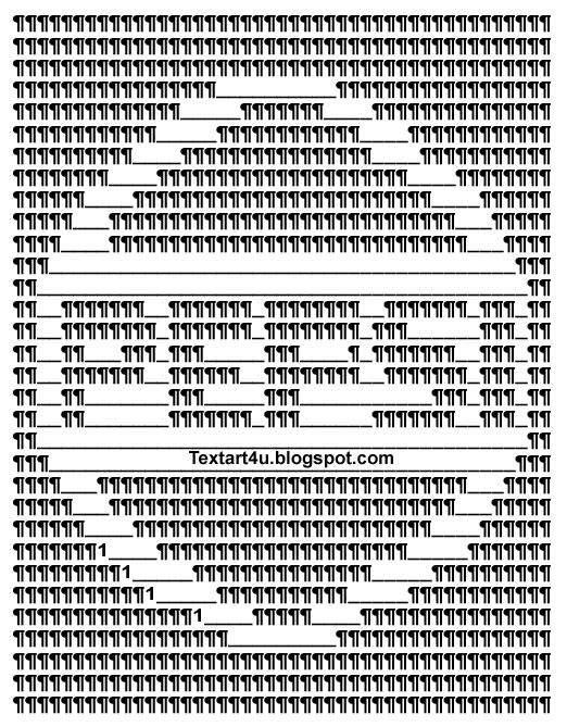 pepsi logo text art for status comments cool ascii text art 4 u