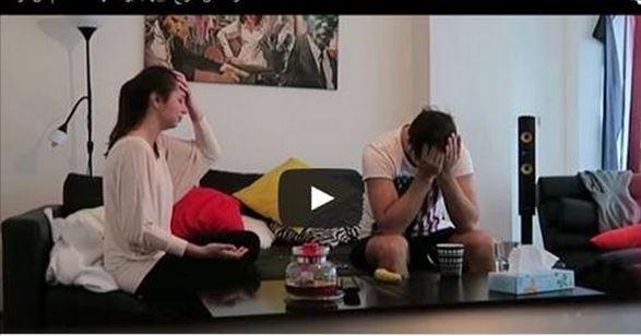 بالفيديو:ارادت أن تمازح حبيبها بخبر حملها فحدث مالم تكن تتوقعه