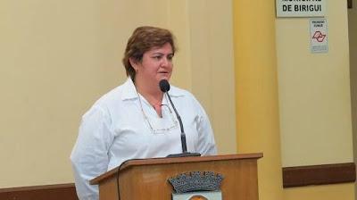 Dra. Osterlaine Henrique Alves - Fonte: Jornal de Birigui
