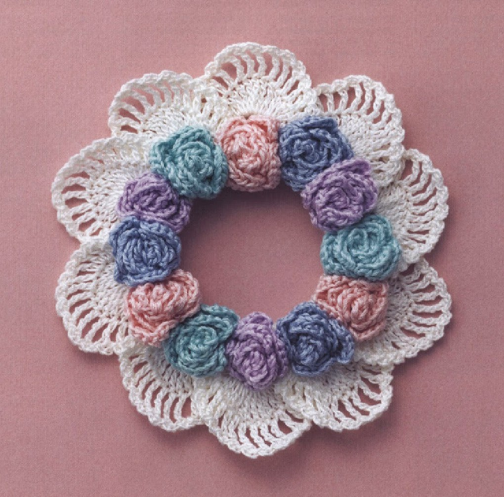 ... Patterns: Cute Crochet Hair Tie Free Japanese Crochet Pattern Download