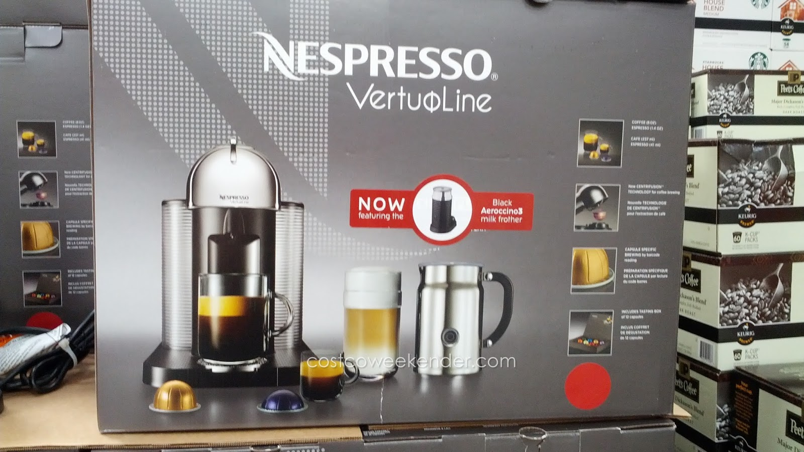 nespresso machine costco