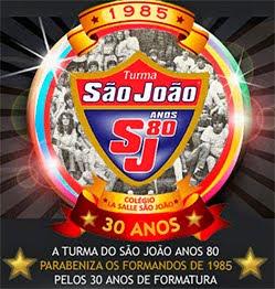 Turmas de 1985