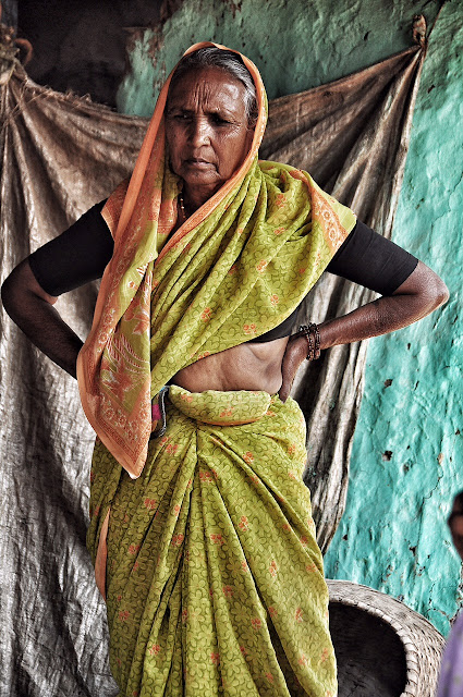 indian indian woman old portrait portraiture maharashtra rural
