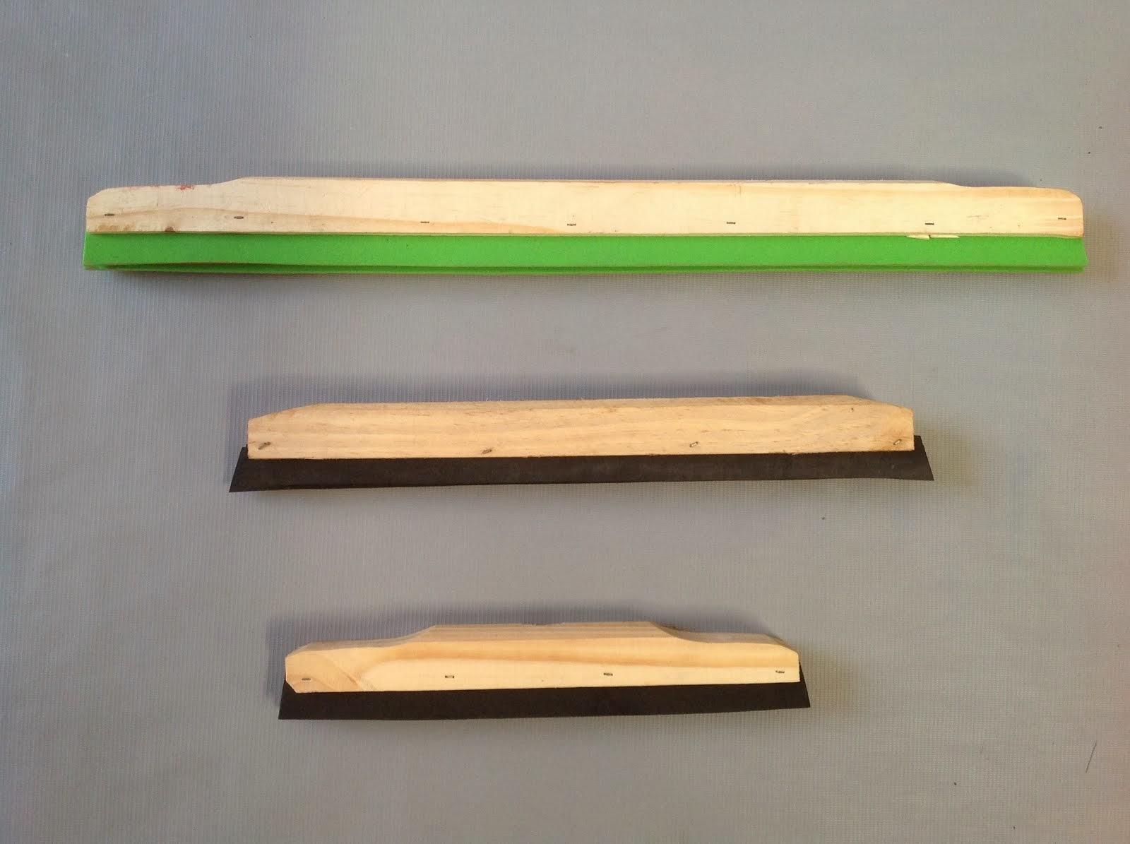Rodo madeira duplo 60 cm, 40 cm, 30 cm