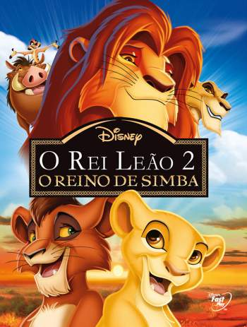 O Rei Leão 2: O Reino de Simba Torrent - BluRay 720p Dublado