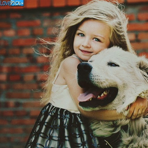 Adorable Awesome Cute Girl Dress With Dog
