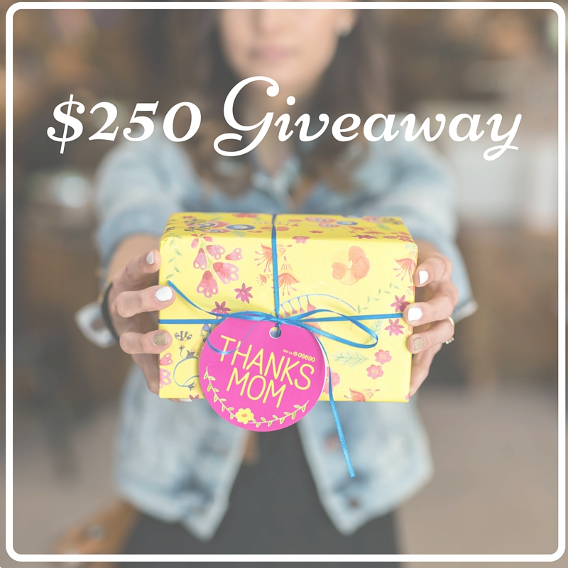 $250 Giveaway