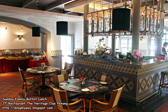 Sunday Family Buffet Lunch @ JT Restaurant, The Heritage Club Penang