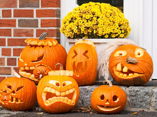 Funny Halloween Pumkin Samples HD Wallpaper