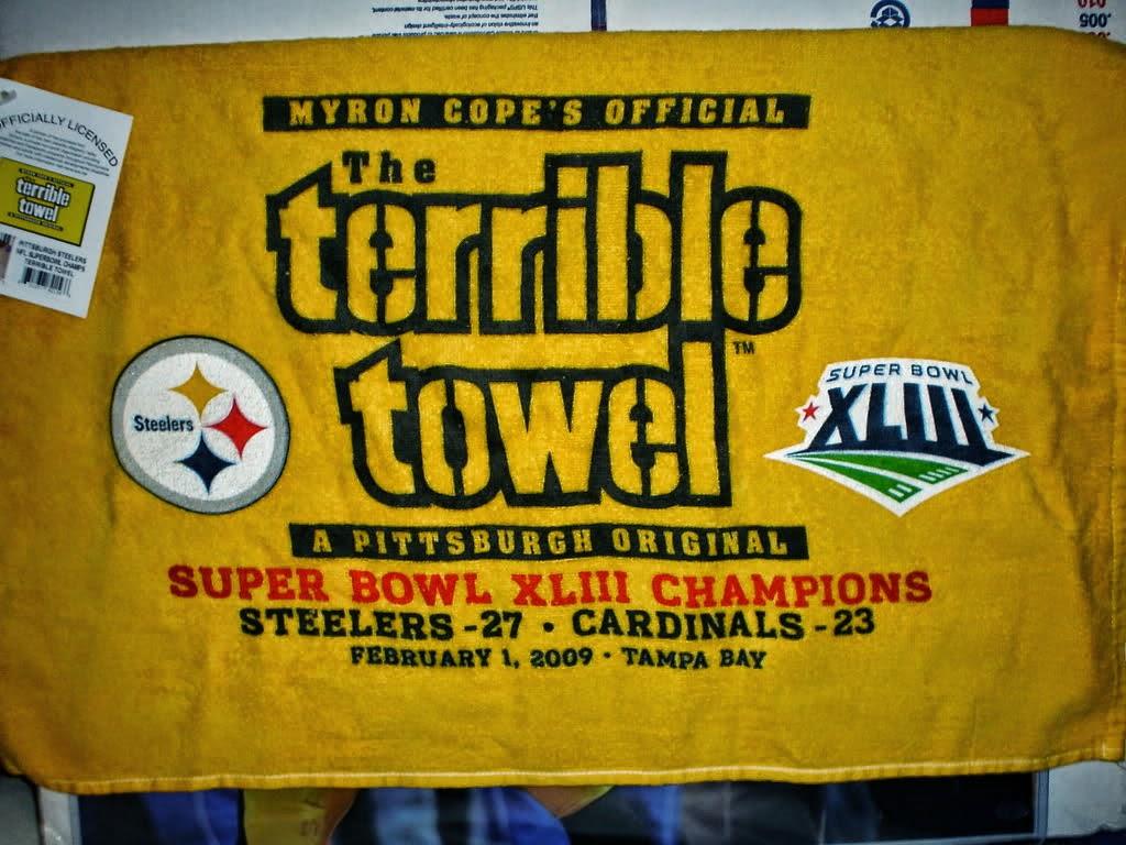 Super Bowl 43 Terrible Towel