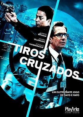 Filme Poster Tiros Cruzados REPACK DVDRip XviD Dual Audio & RMVB Dublado