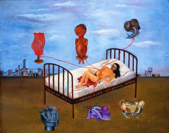 3eme Art L Hopital Henry Ford De Frida Kahlo