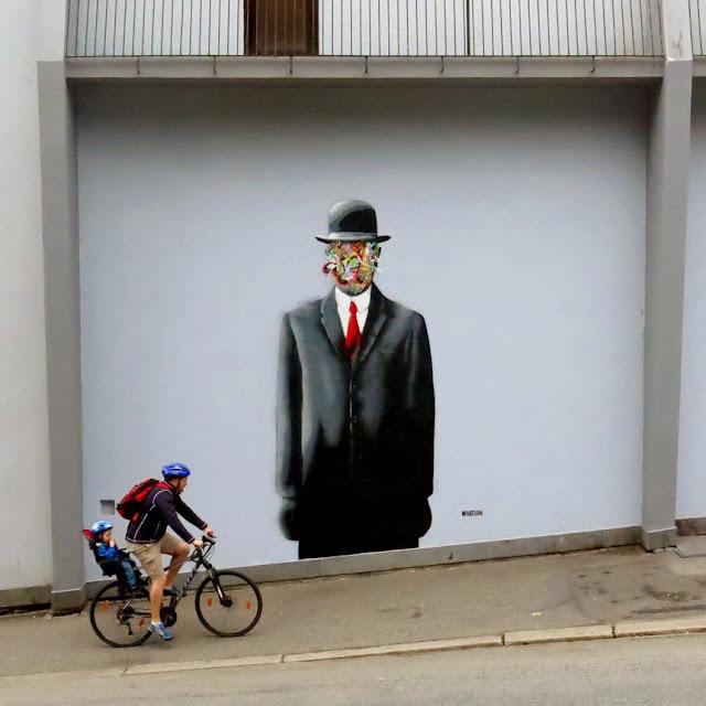 Street Art Murals By Martin Whatson In Stavanger Norway For Nuart Urban Art Festival.
