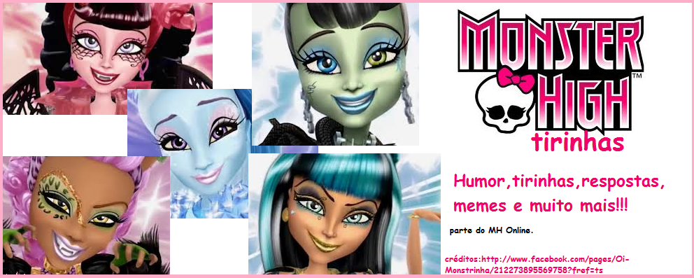 Tirinhas Monster High