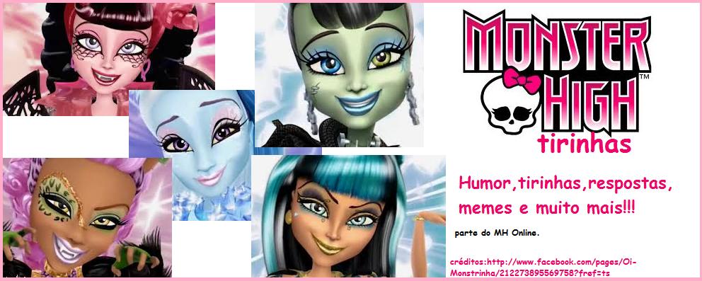 Tirinhas Monster High