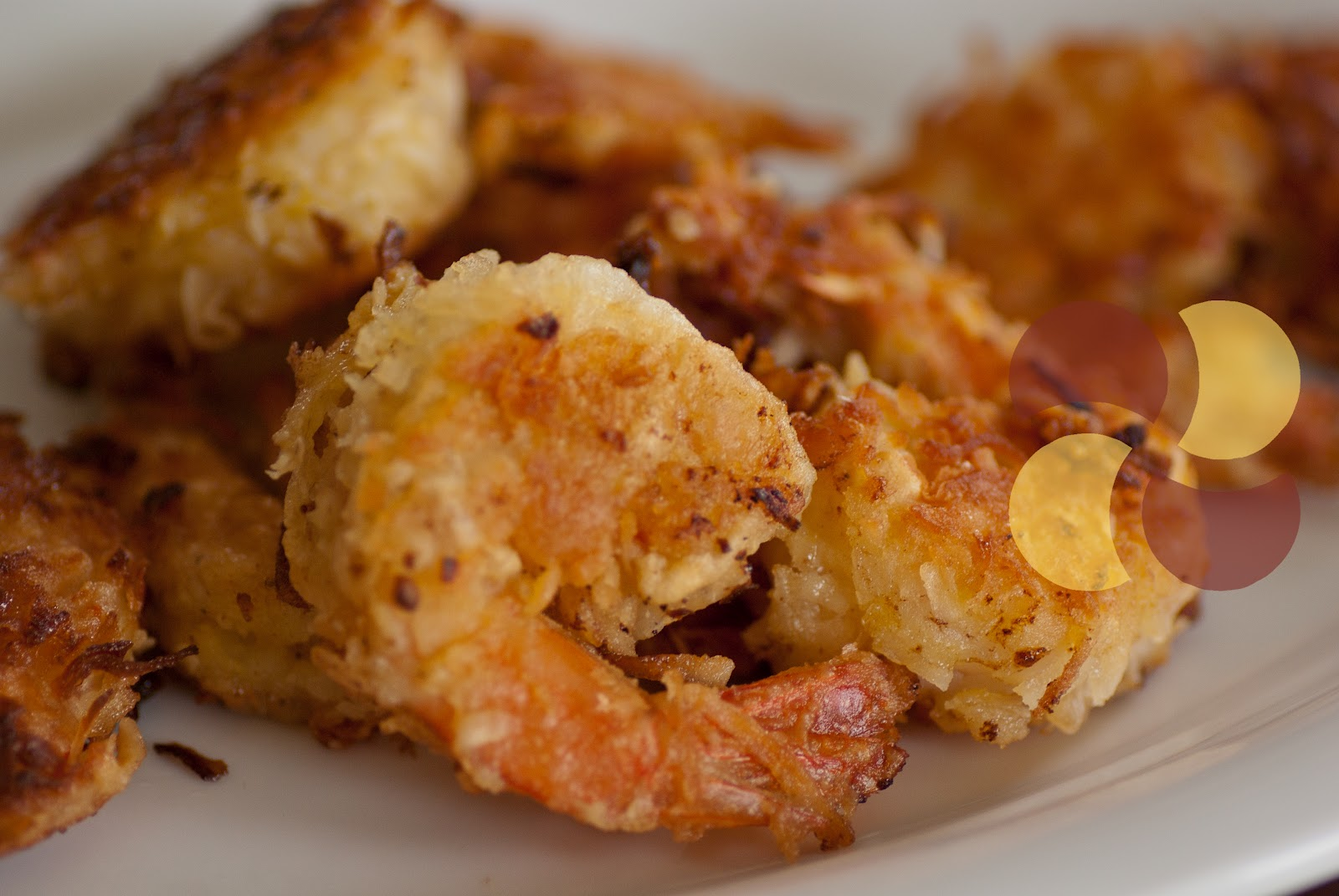 ... good coconut shrimp i especially love it when the shrimp are