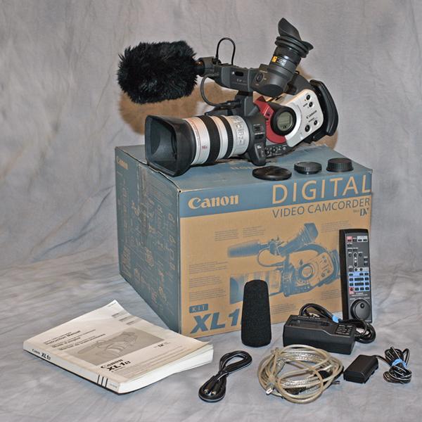 Galeri Shop Canon XL1 Digital Camcorder Kit Harga Rp18