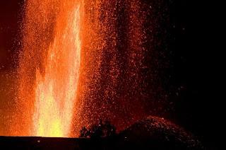 nyamuragira volcano